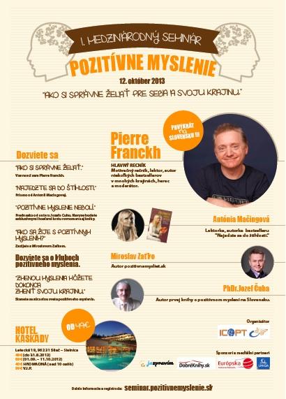1. Medzinárodný seminár pozitívne myslenie